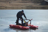 Ice Rescue Patient Return