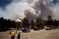 2002 Lake George Fire, Haymen Fire Colorado