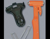 Lifesaver Hammer and Seat Belt Cutter