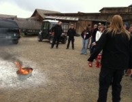 Contruction Fire Extinguisher Training